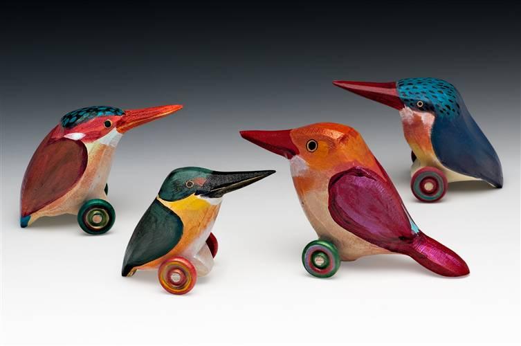 Kingfishers___Celebus_Dwarf__American_Pygmy__Ruddy__Malachite