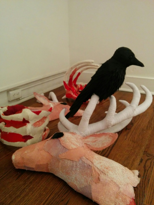 "Tasha Lewis, ""Carcass,"" 2015."