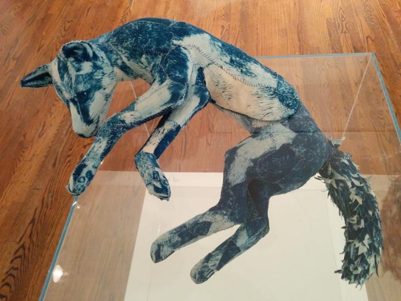 """Tasha Lewis, """"Fox,"""" 2016."""